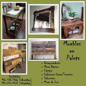 Desayunadores decorados2 posot class - Venta muebles palets ...