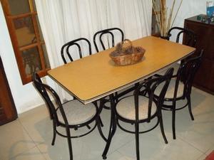 ♥ Comedor 6 sillas reforzadas !! Envío gratis !! ♥