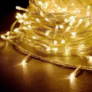 Luces Luz Led De Navidad 100 Foquitos Guirnalda Calida 9 Mts