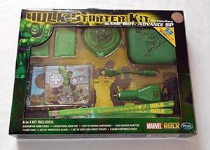 Marvel El Increíble Hulk Starter Kit - Game Boy Advance Sp