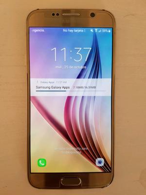SAMSUNG GALAXY S6 32G LIBRE 4G ¡IMPECABLE!
