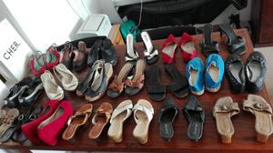 Sandalias y zapatos de mujer número 36