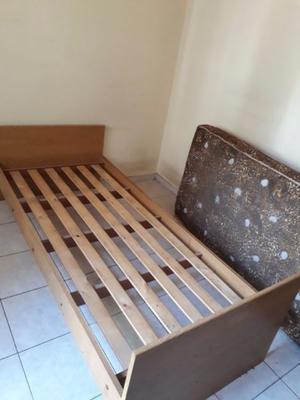 Vendo cama de 1 plaza con colchon 1 plaza