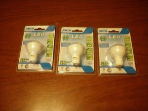 LAMPARA DICROICA LED SICA 6 W LUZ FRIA 220 V GU 10