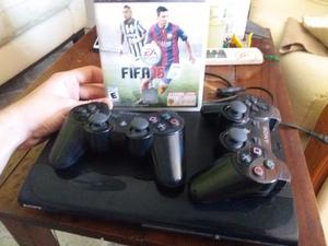 Play station 3 super slim impecable