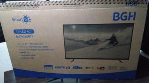 SMART TV BGH 40 FULL HD CON GARANTIA ESTA MUY NUEVO 5 MESES