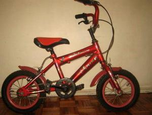 Vendo Bicicleta para niño rodado 12