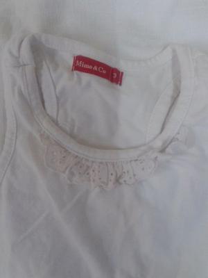 Vestido Mimo y puntilla de brodery T3 blanco hermoso
