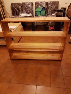 Biblioteca para colgar posot class - Biblioteca madera blanca ...