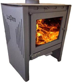 Lepen Calefactor A Leña  Cal Con Salidas De