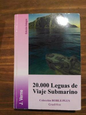 Libro  Leguas de viaje submarino