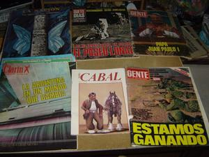 gran lote de 49 revistas viejas