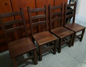 Sillas de algarrobo en otras muebles usados y posot class for Muebles usados en cordoba