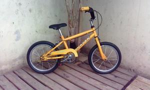 Bicicleta Para Chicos, Rodado 16 Lista Para Usar!!