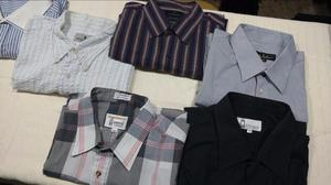 Camisas varias para hombre talles grandes