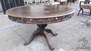 Fantástica Mesa estilo Francés Luis XVI. Cód.: #