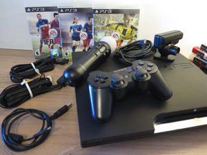 Play Station 3 En Impecable Estado Con Juegos Y Accesorios