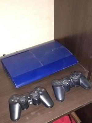 Playstation 3 Slim Azul