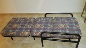Vendo sillón de caño redondo negro