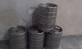 barriles quilmes de  y 20 litros