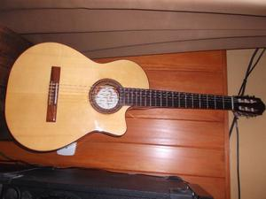 guitarra electrocriolla Fonseca 41 Kec
