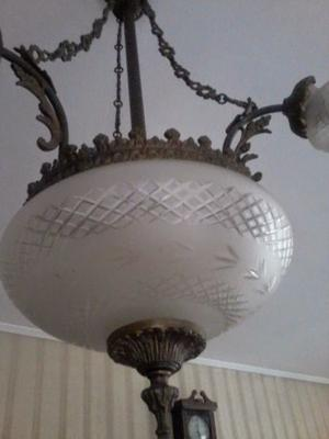 lampara de techo antigua