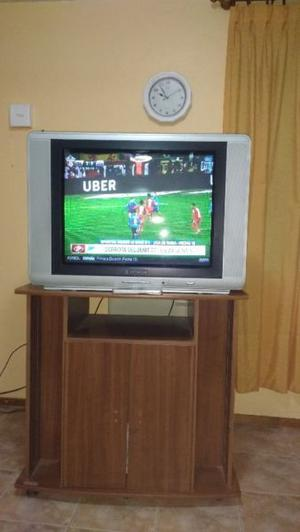 tv hitachi 29 pulgadas con mesa
