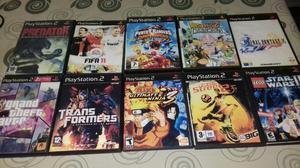 Lote de juegos para Playstation 2