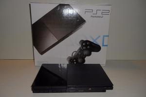 Playstation 2 Slim Chipeada+juegos