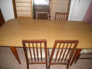 juego de mesas con 6 sillas