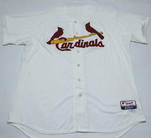 Casaca De Baseball Saint Louis Cardinals Majestic Talle Xxxl