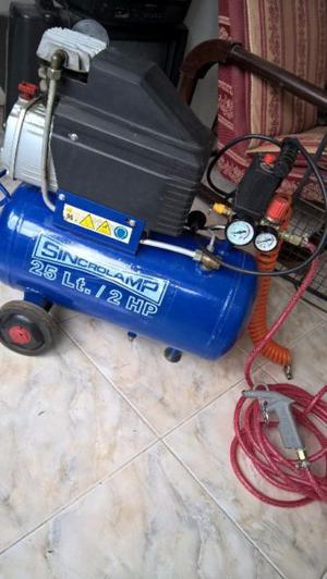 Compresor Sincrolamp 25 Lts.