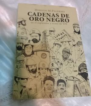 LIBRO CADENAS DE ORO NEGRO - EDICION