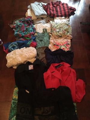 Lote de ropa y calzado de mujer