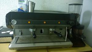 Maquina Cafe Express 2 bocas Electrica