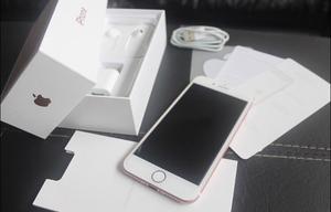 iPhone Rosa 128gb 1 mes de uso con caja y accesorios sin uso