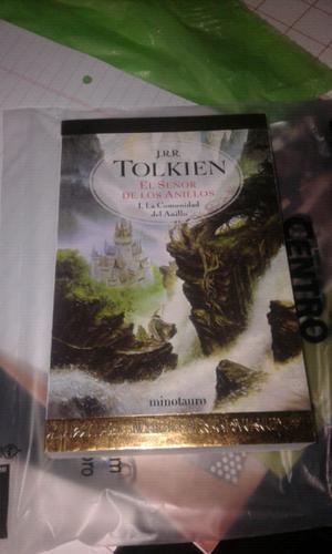 Libros El Hobbit y El Señor de los anillos