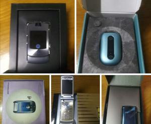 Motorola V8, V3i, K1, U6, A