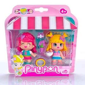 Pinypon Amigas De Compras 2 Muñecas Shopping + Accesorios