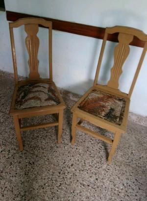 2 Sillas Vintage