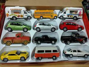 Autos De Colección A Escala  Metal Varios