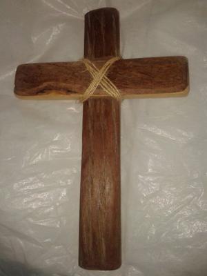 Cruz De Madera 42 X 29 Sin Imagen De Jesus Pefecta