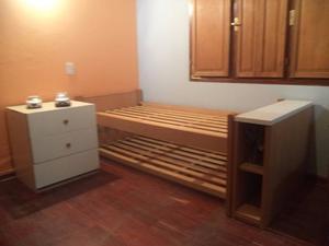 Juego de dormitorio madera maciza pilar posot class for Juego de dormitorio usado