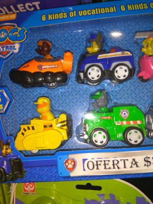 Set de muñecos Patrulla Canina $ 389 oferta