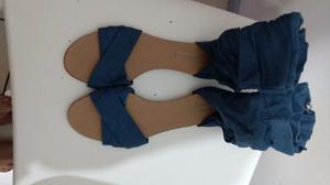 sandalias marca zara argentina talle 38 tipo botitas muy