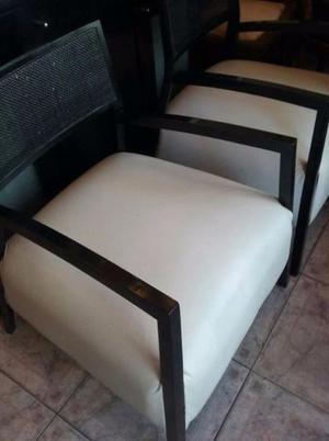 vendo 2 sillones de moderno diseño