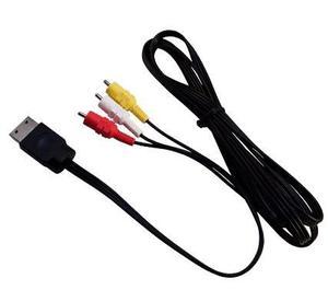 Cable Av Rca Para Ps1, Ps2 Y Ps3 De 1.8 Mts