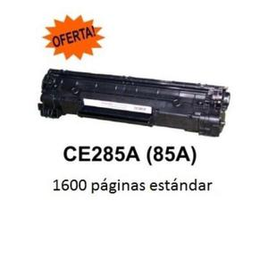 Cartucho De Tóner Negro Hp 85a Laserjet Ce285a w