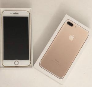 Iphone 7 Plus 32 Gb Color Gold, Impecable, Como Nuevo