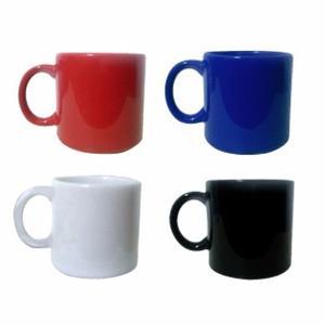 Jarro Mug Ceramica 360cc Blanc Rojo Azul Negro Taza Desayuno
